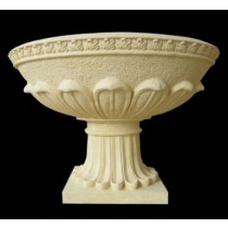 Artificial Sandstone Lotus Petals Design Flowerpot