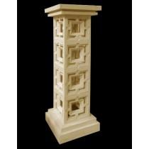 Artificial Sandstone Modern Design Pedestal(H 1450 X W 450 X D 450 mm)