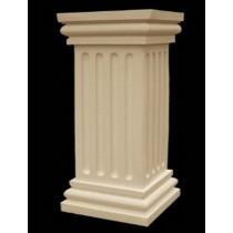 Artificial Sandstone Pillar Style Pedestal(H 750 X W 250 X D 250 mm)