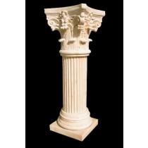 Artificial Sandstone Roman Pillar Style Pedestal