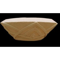 Artificial Sandstone Semi-Hexagonal Flowerpot