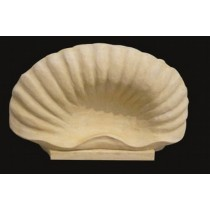 Artificial Sandstone Shell Shape Water Fountain