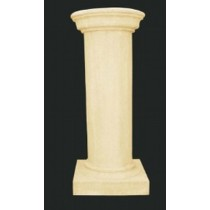 Artificial Sandstone Simple Pillar Style Pedestal