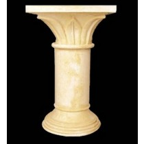 Artificial Sandstone Simple Style Pedestal