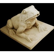 Artificial Sandstone  Sitting Frog Water  Fountain