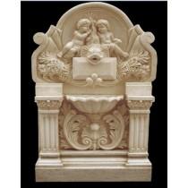 Artificial Sandstone Unique Baby Carved Design Fountain