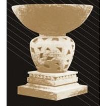 Artificial Sandstone Unique Cutout Design Flowerpot