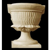 Artificial Sandstone Unique Rose Design Flowerpot
