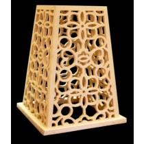Artificial Yellow Sandstone Net Work Garden Lamp