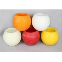 Ball Shape 8''  Hollow Candles