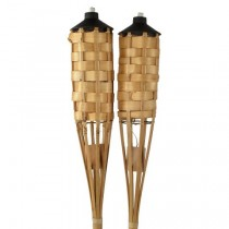 Bamboo Garden Torch Set of 2 Pcs