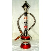 Beautiful Elegant Modern Acrylic & Brass Hookah