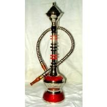 Beautiful Elegant Modern Acrylic & Brass Hookah