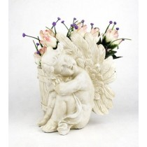 Beautiful Sitting Angel Planter