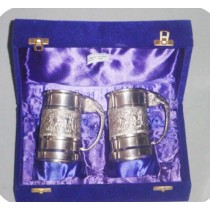 Beer Mug Set Of  Pcs In Velvet Box