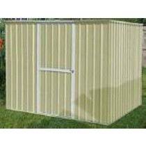 Beige Color Garden Shed