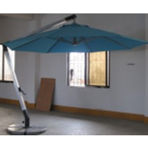Big Aluminum Hanging Umbrella(Dia 3 M Square)