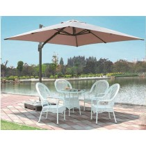 Big Rome Aluminum Umbrella(Square & Single top)