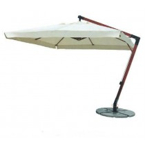 Big Wooden Hanging Umbrella(Dia 3 M Square)