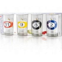 Billiards Ocean Vodka Tumbler