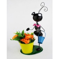 Black Ant Design 24.5 Cm Metal Planter