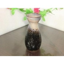 Black & Cream Ceramic Vase Shape Oil Burner