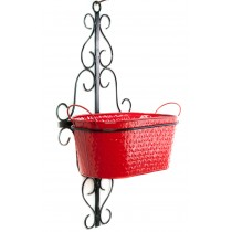 Black Decorative Wall Pot Holder