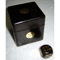 Black Dice Box, 2.5 Inches