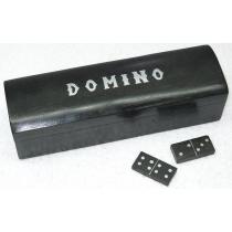 "Black Domino, 8"" X 2.5"" X 8.25"""
