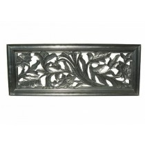 Black Finish 44 x 18 Wall Decor