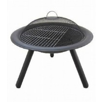 Black Finish Firepit 76cm