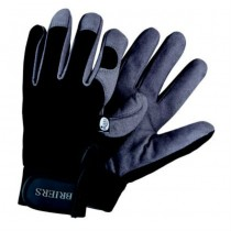 Black & Grey Large Gardening Gloves