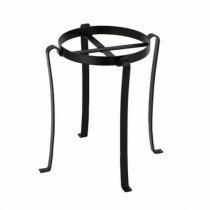 Black Iron Patio Flower Pot Stand