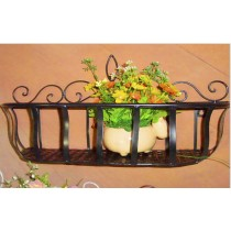 Black Planter Basket 60cm*20cm*28cm Size