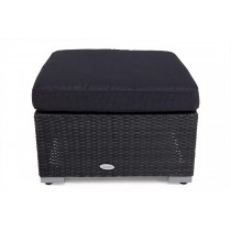 Black Rattan Durable Storage Box