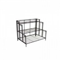 Black Steel Plant Stand 35 Inch