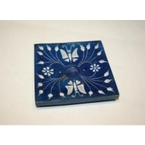 Blue Butterfly Incense Stick Holder