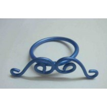 Blue color Iron wire Napkin Ring