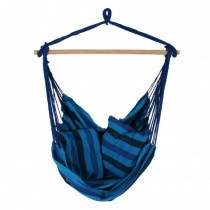 Blue Cotton Hammock 130 x 100 cm