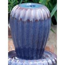 Blue Handmade Ceramic Led Water Fountain