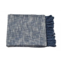 Blue & White design Throw