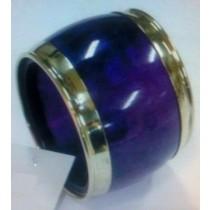 Brass Border Napkin Ring