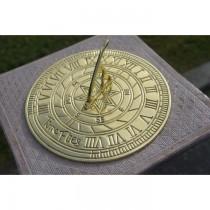 Brass Polished Classic Design Garden Sundial