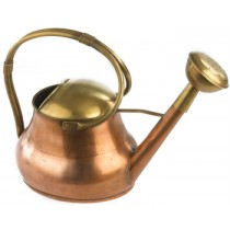 Brass Watering Can With Twin Handle
