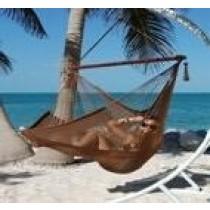 Brown Caribbean hammock chair