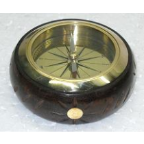 Brown Natural Compass, 3.5 Inches