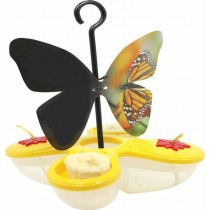 Butterfly Design Hanging  Bird Fruit Feeder