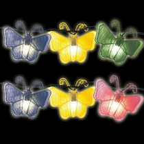 Butterfly Design Incandescent String Light Set