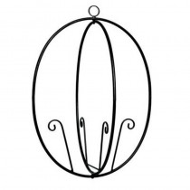 Butterfly Designed Iron Trellis 24 Inch