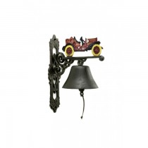 Car Design Rustic Cast Iron Garden Bell